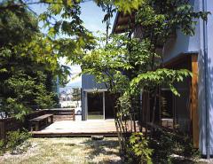 安芸町家の庭